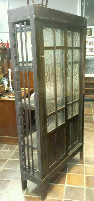 Librer a antigua con puerta corredera de segunda mano por for Puertas correderas antiguas