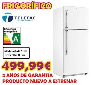 Frigorífico Telefac 70cm ancho A+