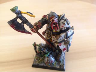 Ogro de Warhammer conversion
