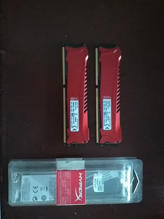 Kingston HyperX Savage CL11 2133 mhz 2x4 GB DDR3