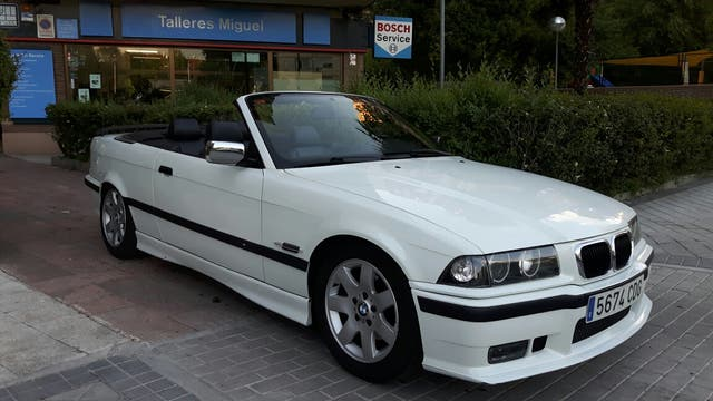 bmw 318i e36 cabrio de segunda mano por en madrid en wallapop. Black Bedroom Furniture Sets. Home Design Ideas