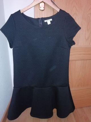 """Vestido de """"Blanco"""" color negro. Talla L"""