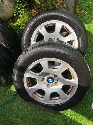 Ruedas neumaticos BMW