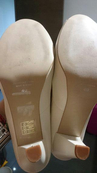 zapatos de novia de segunda mano en gandía en wallapop