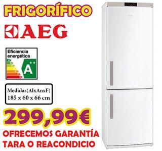 Frigorífico AEG combi 1,85m A++