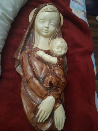 Vendo virgen con su hijo