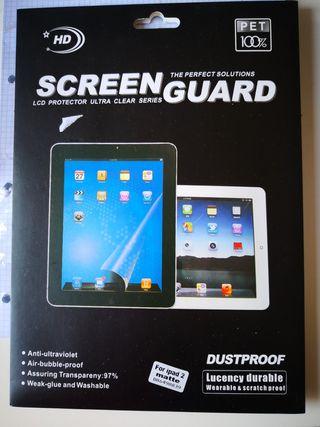 Protector pantalla ipad 2