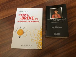 Libros Microrrelatos.
