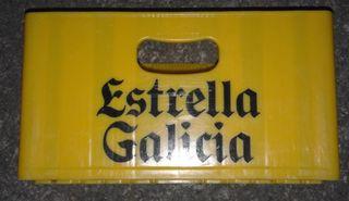 Caja de plastico cervezas