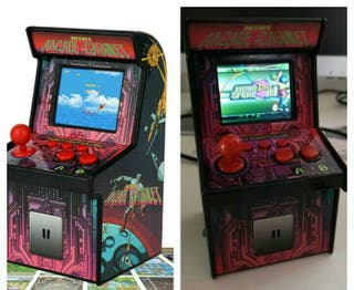 A Estrenar. Mini Maquina 200 Juegos Clasico Arcade