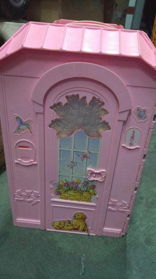 casa plegable Barbie y Ken años 90