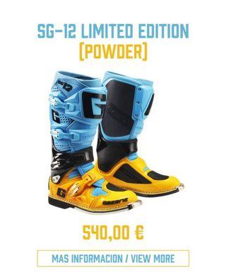 Botas Gaerne Sg12 limited edit