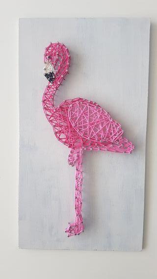 Cuadro string art personalizado