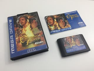 Cuttroad Island Mega Drive