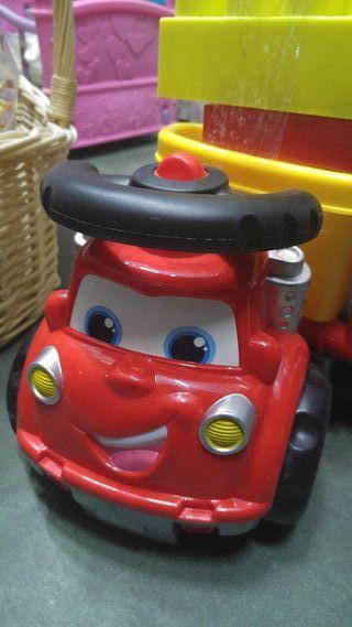 camiones de piezas infantil