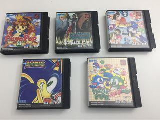 Juegos Neo Geo pocket