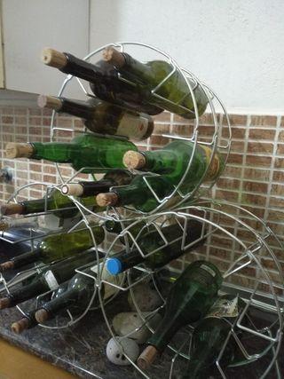 botellero de acero 24 botellas