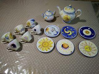 Juego de tazas cerámica