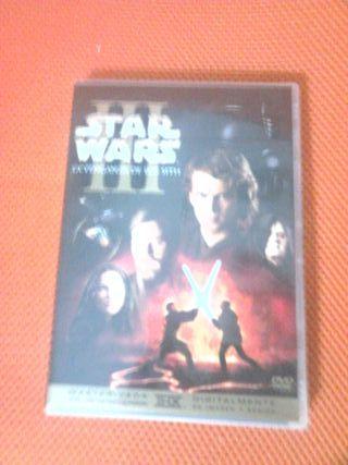 DVD de Star Wars: La venganza de los sith
