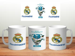 Taza real madrid champions 13
