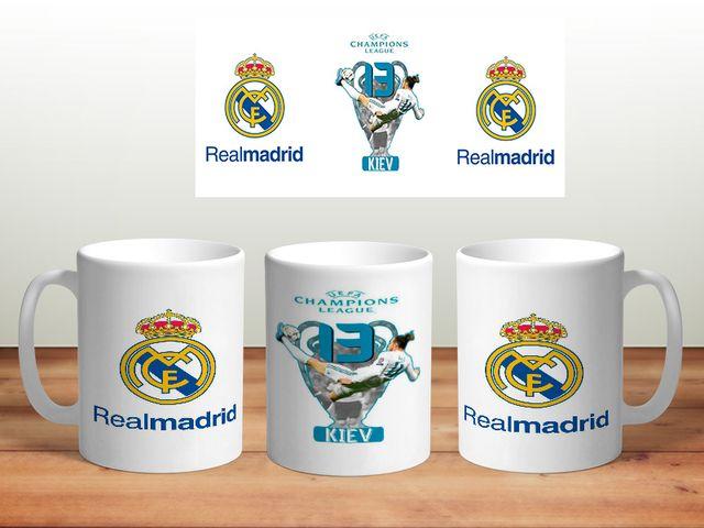 Taza real madrid champions 13