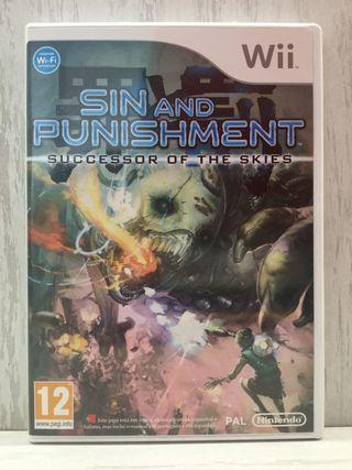 [VENDO ó CAMBIO] Sin and Punishment (Wii)