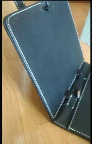 Funda tablet con teclado usb