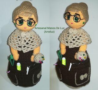 muñeca crochet