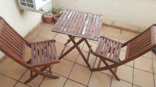 conjunto muebles exterior-jardin, usado segunda mano  España