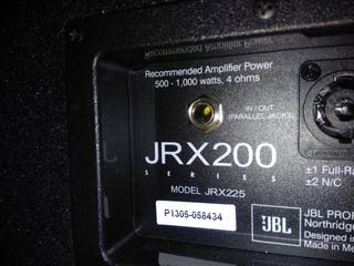 JBL 2000 WATTS