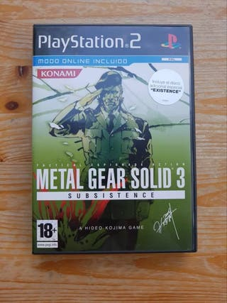 Metal Gear Solid 3 ( Subsistence ) PS3.