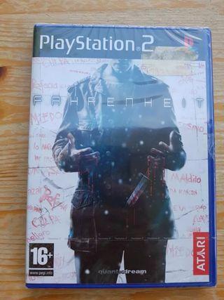 Fahrenheit (PS2) Precintado.