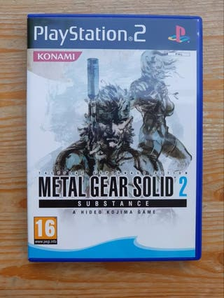 Metal Gear Solid 2 (Substance) PS2
