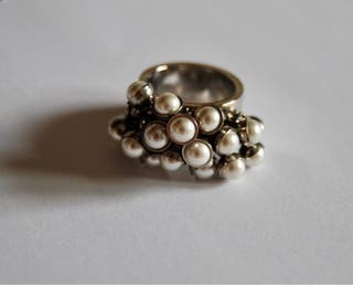 Anillo Swatch perlas