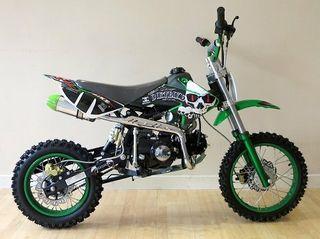 moto cross enduro 125 cc, nuevas