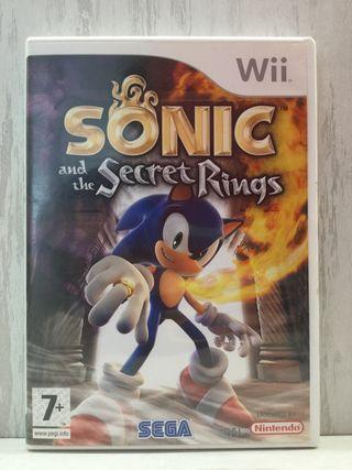 [VENDO ó CAMBIO] Sonic and the Secret Rings (Wii)