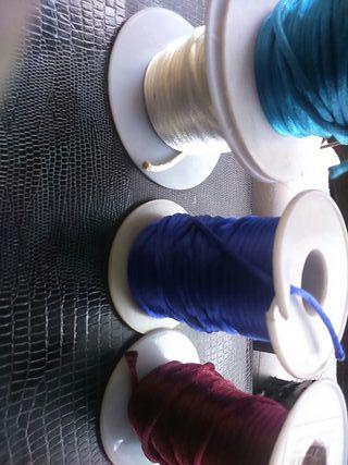 DIY hilo de radon varios colores