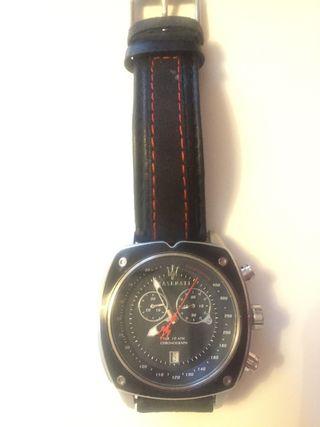 Reloj Maserati de piel