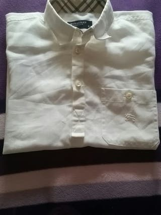 camisa niño burberry talla 6