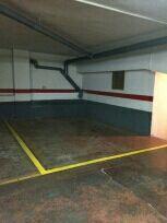 Se alquila plaza de garaje para Moto