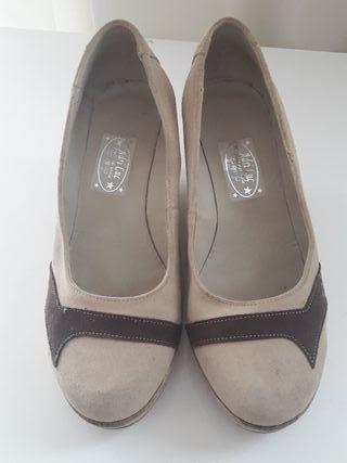 Zapatos para mujer cómodos en de segunda mano en cómodos Gandía en WALLAPOP 83fc3d
