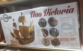 barco nao victoria modelismo
