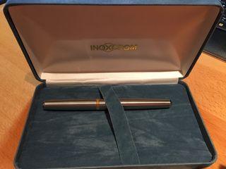 Estilografica pluma inoxcrom