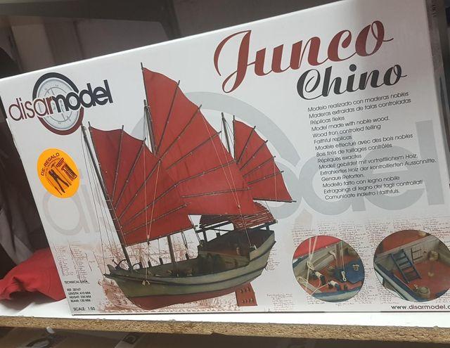 barco junco chino modelismo .