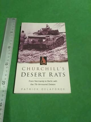 Churchill's Desert Rats. 214 págs.