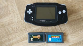 Gameboy Advance + Juegos
