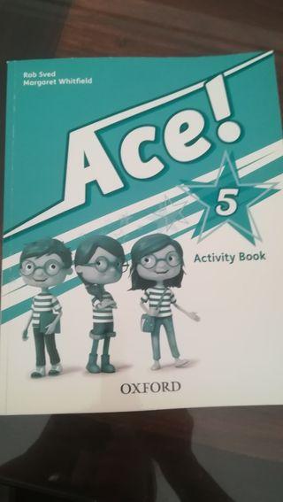 Libro de inglés Ace 5