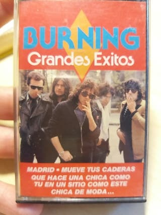 "Cassette Burning ""Grandes exitos"""