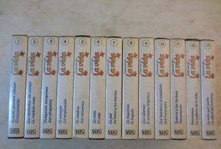 COLECCION VHS ERASE UNA VEZ EL CUERPO