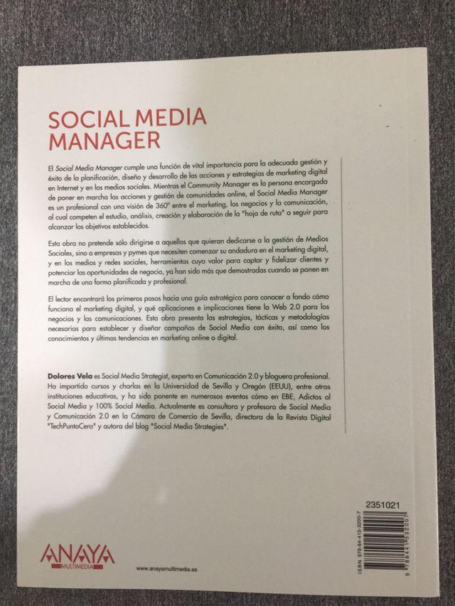 Libro Social Media Manager